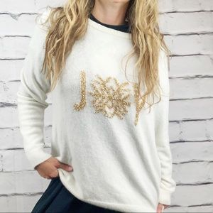 {Talbots} ugly Christmas sweater wool blend